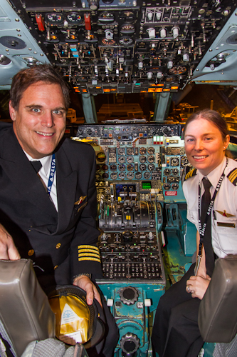 Captain  Woolfrey and First Officer Tristan Albertsman were at the controls of Delta 2014.