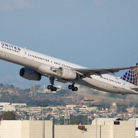 United 757-300 N57857 was one of the aircraft involved in the incident.