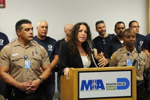 Lauren Stover, Assistant Director of Public Safety and Security for MIA (Photo: Miami Airport Watch)
