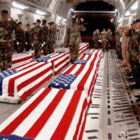 Saluting casket