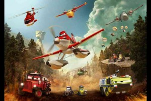 The fleet in Planes: Fire & Rescue (Photo courtesy Disneytoon Studios