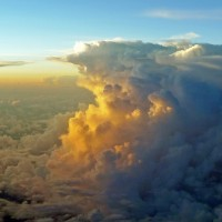 Pilots will always stay clear of cumulonimbus buildups like these.