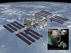 A diagram of RapidScat's future home on the ISS. Credit: NASA/JPL-Caltech/Johnson Spaceflight Center.