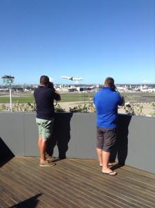 Plane Spotters-Rydges Sydney