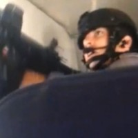 SWAT Team members stormed Sunwing flight 772 to apprehend a passenger who expressed a desire to blow up the aircraft.