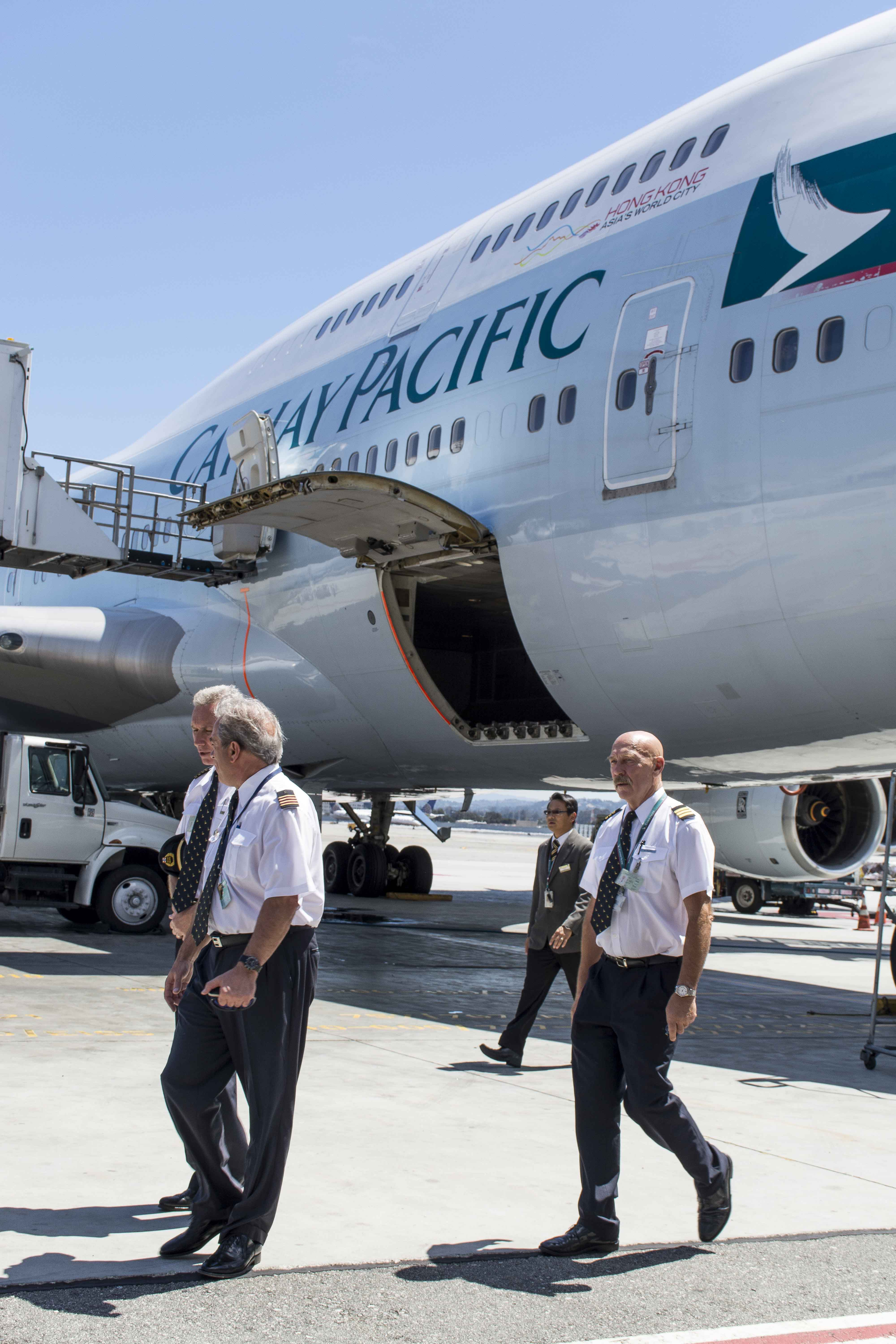 Cathay Pacific Bids Farewell To The 747 At Sfo