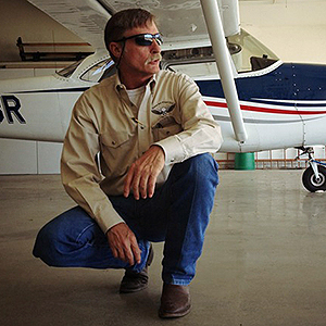 Airplane Repo's Kevin Lacey (Photo courtesy of Discovery Channel)