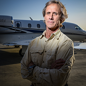Airplane Repo's Mike Kennedy (Photo courtesy of Discovery Channel)