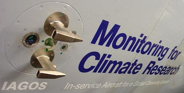 An IAGOS air sensor inlet (Photo: iagos.org)