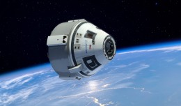 The Boeing CST-100.
