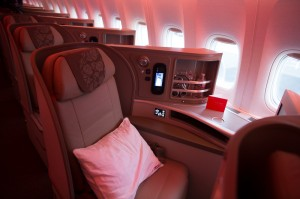 China Eastern's new business class.