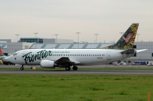 Frontier introduced the animal-themed tails during it's 1994 relaunch. (Photo: Planephotoman/Wikipedia Commons)