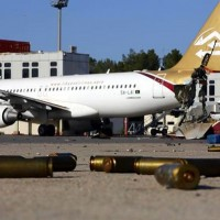 This Libyan Airbus A320 (5A-LAI) is not going anywhere for a while.