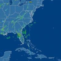 Flight path of N900KN, from FlightAware.com.