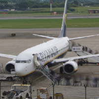 Screenshot from the Ryanair timelapse (watch below)