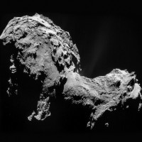 Comet 67P on 19 September 2014, as seen by Rosetta.