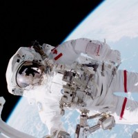 Chris Hadfield, the first Canadian to walk in space – Photo: Scott Parazynski | NASA