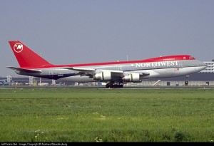 Boeing 747-151 N608US Northwest Airlines