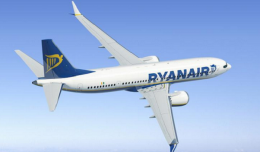 Computer rendering of a Ryanair 737 MAX 200. [Courtesy of Boeing]