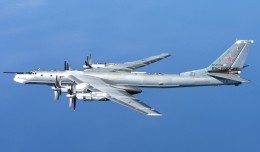 A Tu-95MS off the coast of Scotland – Photo: United Kingdom Ministry of Defense