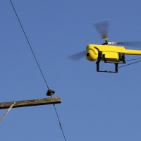 A UAS for inspecting powerlines. Image courtesy CSIRO.