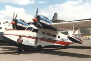This Grumman Goose would be too difficult to hand-prop!