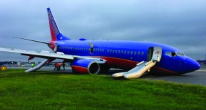 The Southwest Flight 375 accident at La Guardia Airport in 2013 caused no fatalities. Accidents do happen, but having a majority or all passengers walk away safely has become commonplace in our industry, thanks to advancements in procedure, technology and regulation.