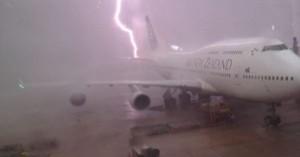 Don't get me started on the odds of getting struck by lightning while actually on an airplane.