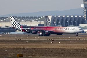 Etihad Airways Airbus A340-600.