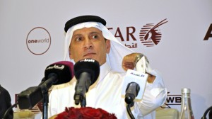 Al Baker, CEO of Qatar Airways