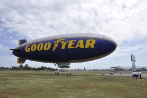 Goodtyear Blimp Spirit of America