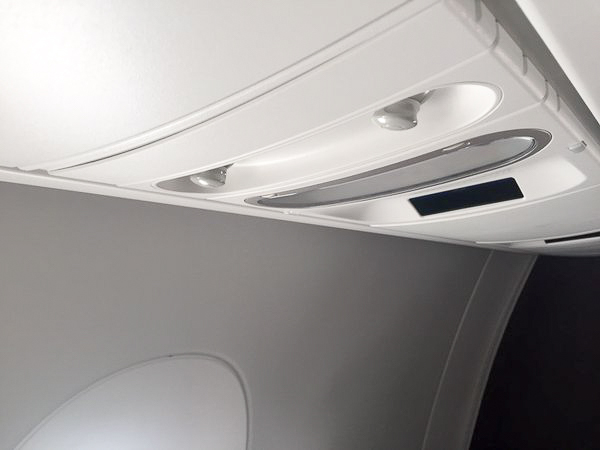 Meanwhile, those seated in the window seats have a pair of air vents available.