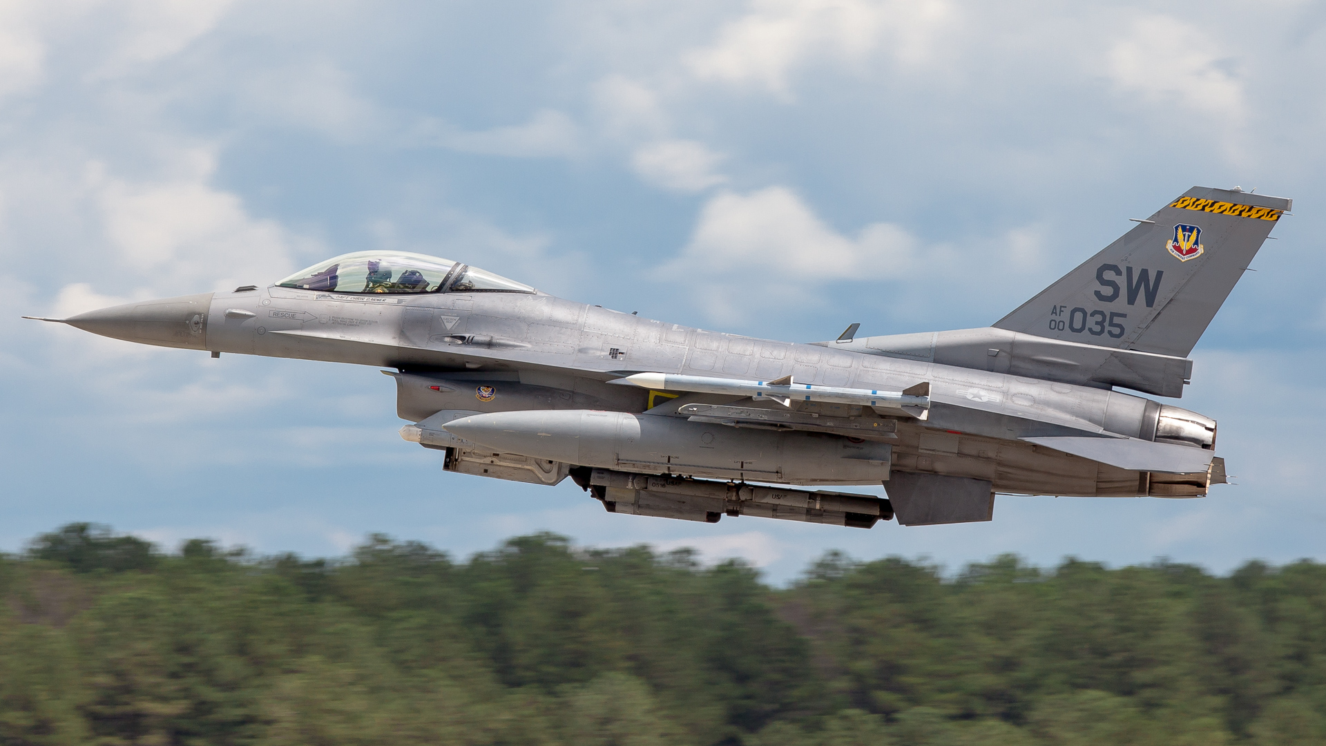 Photos The Thunder Rolls At Shaw Air Force Base