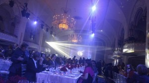 A glance inside the gala during seating. Photo: Author