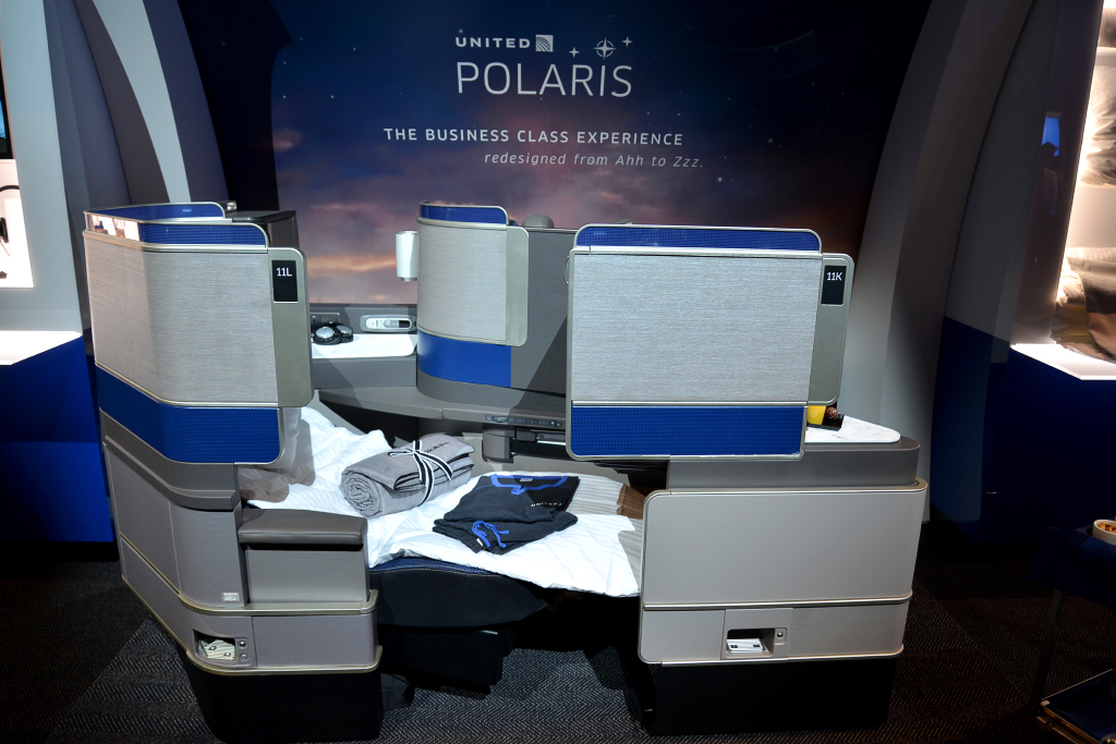 United Unveils New Polaris Business Class Product
