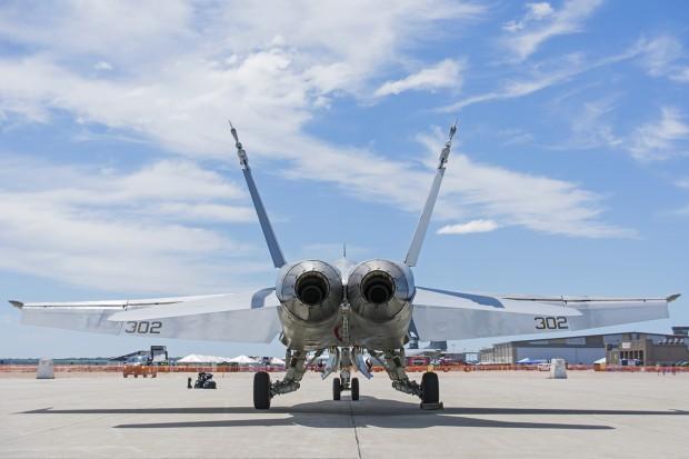 Hornet 302 at rest.