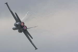 A display of raw power from the TACDEMO Hornet.