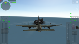 Just landing a C-130 on an aircraft carrier. No big deal. (I've never successfully landed it)