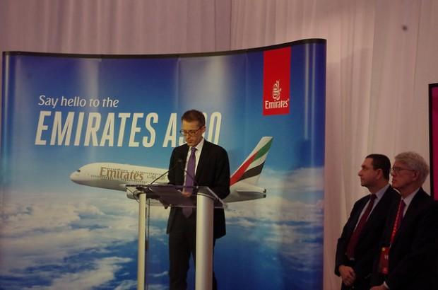 Emirates VP Matthias Schmid