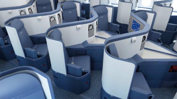 Delta BusinessElite seating