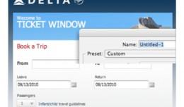 Delta Ticket Window Facebook