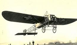 Bleriot XI begins a flight over the Alps circa 1913.