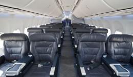 Boeing Sky Interior on a United 737-900ER