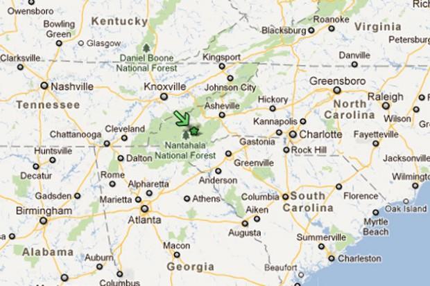 Map Of Southwest North Carolina Business Jet Crashes Near Airport in North Carolina, Killing Four