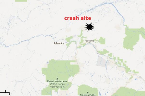 Crash site of the Piper PA-32 Saratoga. (Map by Google/Matt Molnar)