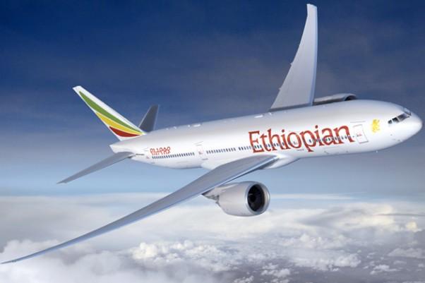 Ethiopian Airlines Boeing 787-8 Dreamliner. (Rendering by Boeing)