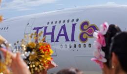 Thai Airways first Airbus A380. (Photo by Airbus)