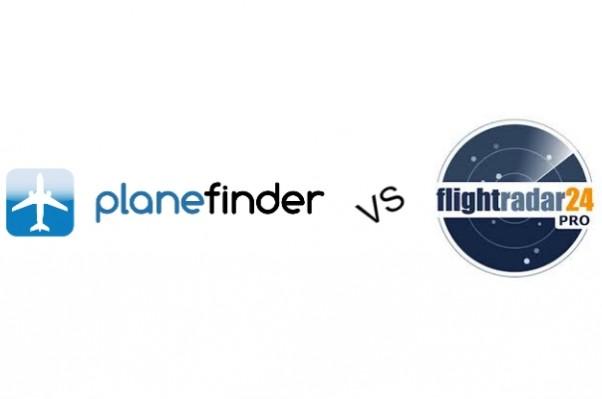 App Shootout: FlightRadar24 vs. Planefinder