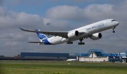 A350 First Flight Takeoff